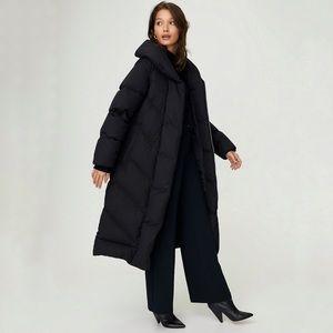 WILFRED Aritzia Duvet Long Winter Puffer Jacket